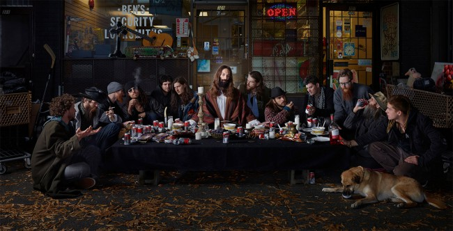 Dina Golstein- Last-Supper