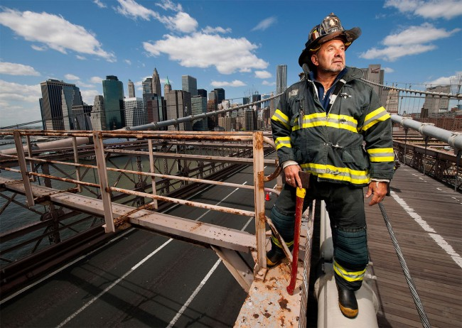 Joe McNally - Ground Zero Portraits